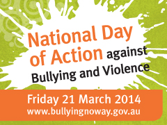 2014 National Day of Action Against Bullying and Violence